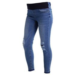 New Look Maternity WILMA Jeans Skinny Fit duck egg
