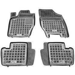 CITROEN C4 ( + stopery) dywaniki gumowe REZAW-PLAST RP-D 201206