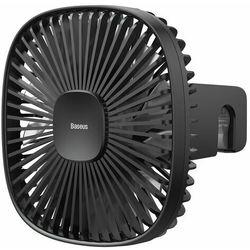 Samochodowy wentylator / wiatrak Baseus Natural Wind na zagłówek, magnetyczny (czarny)