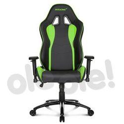 Akracing Nitro Gaming Chair (zielony) - produkt w magazynie - szybka wysyłka!