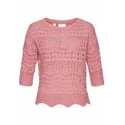 Sweter, długi rękaw bonprix czarny