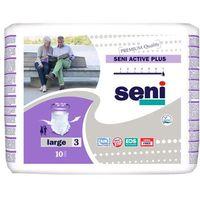 Pozostała higiena, SENI Active Plus XL - elastyczne majtki chłonne 10szt.
