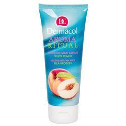 Dermacol Aroma Ritual White Peach krem do rąk 100 ml dla kobiet