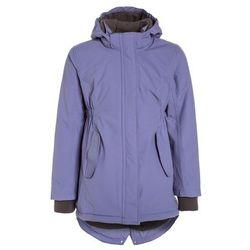 mikkline GIRLS COAT SOLID Płaszcz zimowy blue ice purple