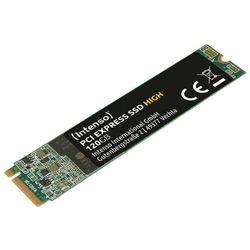 Intenso Dysk SSD wewnętrzny 120GB M.2 2280 PCIE