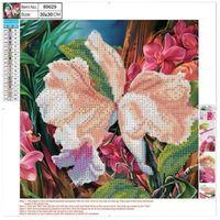 Pozostałe artykuły szkolne, Mozaika diamentowa 5D 30x30cm Flower 89629