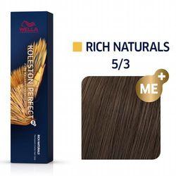 Wella Koleston Perfect ME+   Trwała farba do włosów 5/3 60ml