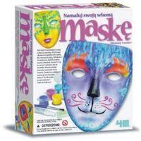 Kreatywne dla dzieci, Zrób to sam - Maska biała