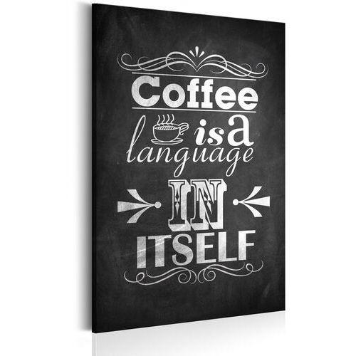 Obrazy, Obraz - Język kawy
