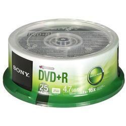 DVD+R Sony 4,7GB 25szt.- natychmiastowa wysyłka, ponad 4000 punktów odbioru!