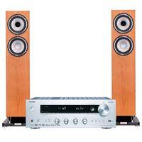 Kino domowe, Zestaw stereo ONKYO TX-8270S + TANNOY Revolution XT 6 F Dąb