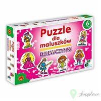 Pozostałe zabawki dla najmłodszych, Puzzle dla Maluszków - Dziewczynki