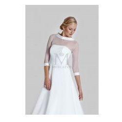 Elegancka koszulka ślubna e-604