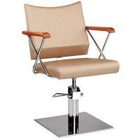 Meble fryzjerskie, Ayala Roma 02 fotel fryzjerski na pompie gazowej i podstawie pięcioramiennej