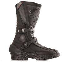 Męskie obuwie sportowe, RST ADVENTURE II BLACK BUTY SKÓRZANE