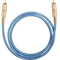 Kable audio, Kabel cyfrowy RCA, Oehlbach NF113, wtyk RCA / wtyk RCA, 75 Ohm, niebieski, 3 m