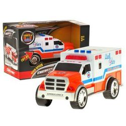 AUTKO KARETKA ambulans światło dźwięk syreny 3347