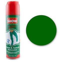 Renowator koloru do butów z zamszu i nubuku - zielony - Zielony