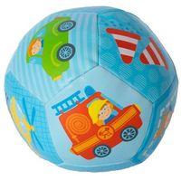 Pozostałe zabawki dla najmłodszych, Miękka piłeczka dla malucha niebieska