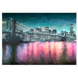 Fototapeta - Malowany Nowy Jork bogata chata