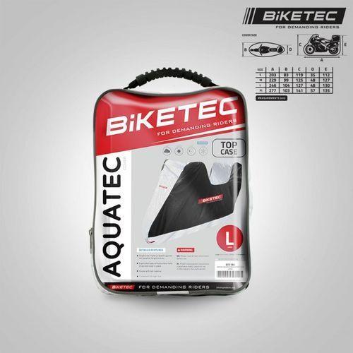 Pokrowce motocyklowe, BIKETEC Pokrowie Wodoodporny AQUATEC XL kufer