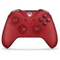 Gamepady, Kontroler MICROSOFT XBOX ONE Czerwony + Zamów z DOSTAWĄ JUTRO!