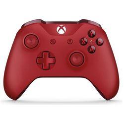 Kontroler MICROSOFT XBOX ONE S Czerwony + Kontroler 20% taniej przy zakupie konsoli xbox! + Zamów z DOSTAWĄ JUTRO! + DARMOWY TRANSPORT!