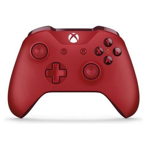 Gamepady, Kontroler MICROSOFT XBOX ONE Czerwony + Kontroler 20% taniej przy zakupie konsoli xbox! + Zamów z DOSTAWĄ JUTRO! + DARMOWY TRANSPORT!