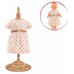 Ubranko dla lalki Mon Classique 36 cm Corolle - Sukienka Golden Pink 887961288353