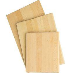 Deska do krojenia z drewna bukowego 500x300x20 mm | STALGAST, 342500