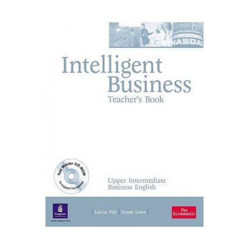 Książki do nauki języka, Intelligent Business Upper Intermediate. Książka Nauczyciela + CD (opr. miękka)