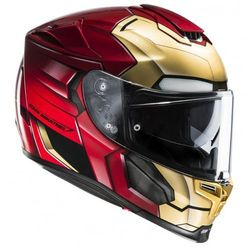 HJC IRONMAN HOMECOMING RED/GOLD Kask integralny