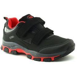 Buty sportowe dla dzieci American Club WT10/20 Red - Czerwony ||Czarny