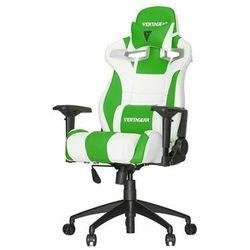 Vertagear S-Line SL4000 Racing Series Krzesło gamingowe - Biało-zielony - Skóra PU - 150 kg