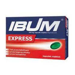 Ibum Express 0,4g x 12 kapsułek