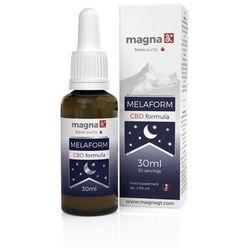 Melaform - formuła melatoniny i CBD na bezsenność