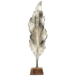 Dekoria Dekoracja Silver Leaf I 66cm, 18x12x66cm