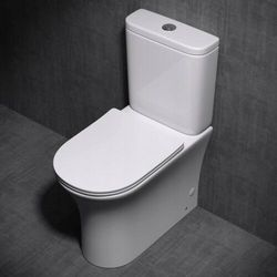 WC kompakt RIMLESS deska slim Pia 304T