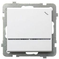 Łącznik schodowy z podświetleniem Biały - ŁP-3RS/m/00 Sonata