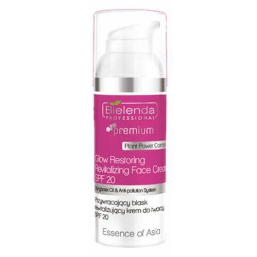 Pozostała pielęgnacja twarzy, Bielenda Professional GLOW RESTORING REVITALIZING FACE CREAM SPF20 Przywracający blask rewitalizujący krem do twarzy SPF20 (50 ml)