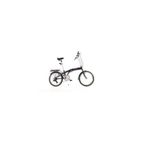 Rowery górskie, MIFA Germany Aluminiowy rower składany SKŁADAK MIFA 7- biegów SHIMANO z bagażnikiem i torbą