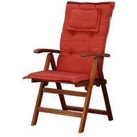 Poduszki, Poducha na krzesło TOSCANA ceglasta