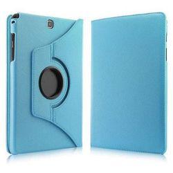 Niebieskie etui skórzane PU Stand Cover Galaxy Tab A 9.7 T550 - Niebieski