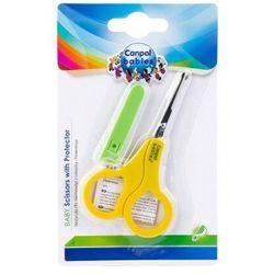 Nożyczki z osłonką dla niemowląt i dzieci Canpol babies