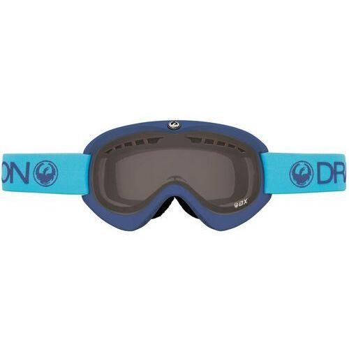 Kaski i gogle, gogle snowboardowe DRAGON - Dx Brine (Smoke + Yellow) (616) rozmiar: OS