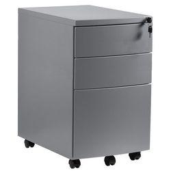 Kontener biurowy RPH-01-S srebrny Unique