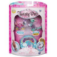 Kreatywne dla dzieci, Bransoletki Twisty Petz - 3-pak Mysz, kangur, jeleń