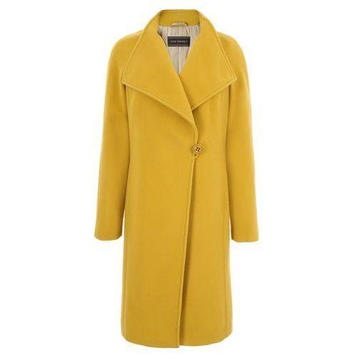 Płaszcze damskie, Płaszcz 6602 (Rozmiar: 40, Kolor: żółty)