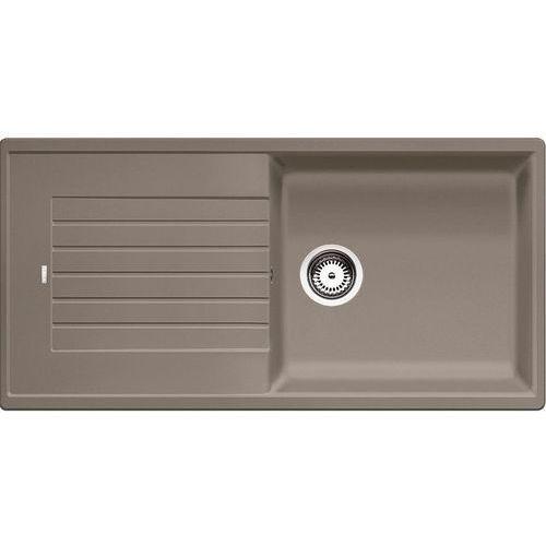 Zlewozmywaki, ZIA XL 6S Blanco zlewozmywak granitowy 500x1000 korek manualny tartufo - 517576