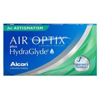 Soczewki kontaktowe, Air Optix PLUS HydraGlyde for Astigmatism 6 szt.